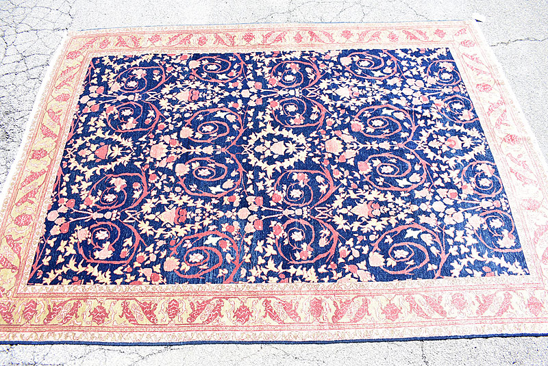 228. Turkish Room-size Carpet, 11ft 10in x 8ft 8in |  $676.50