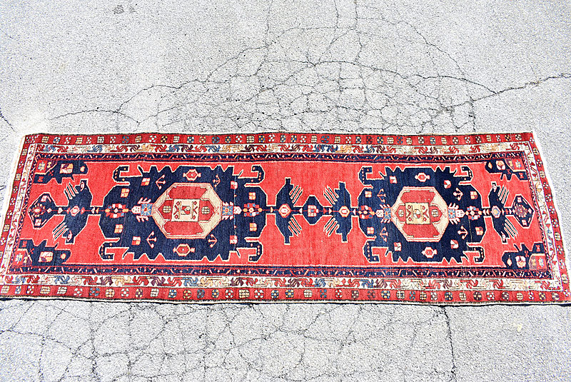 229. Oriental Runner, 10ft 10 in x 3ft 6in |  $501.50