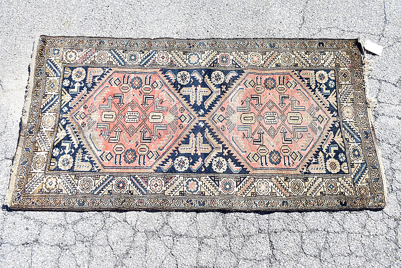 235. Caucasian Area Carpet, 6ft 6in x 3ft 5in |  $206.50