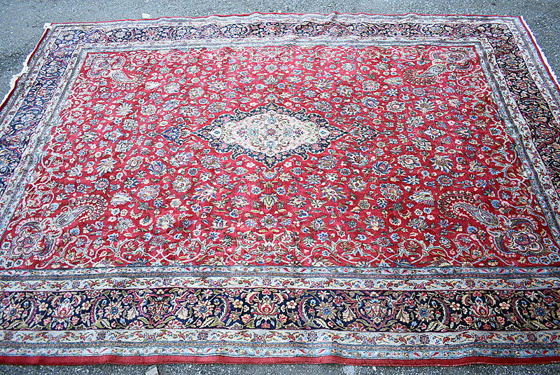 240. Persian Room-size Carpet, 16ft x 11ft |  $531