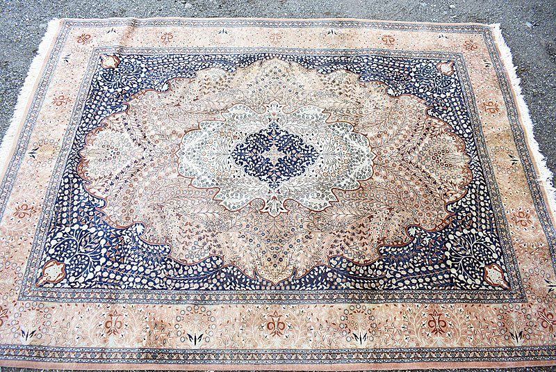 241. Oriental Room-size Carpet, 11ft 3in x 8ft 3in |  $501.50