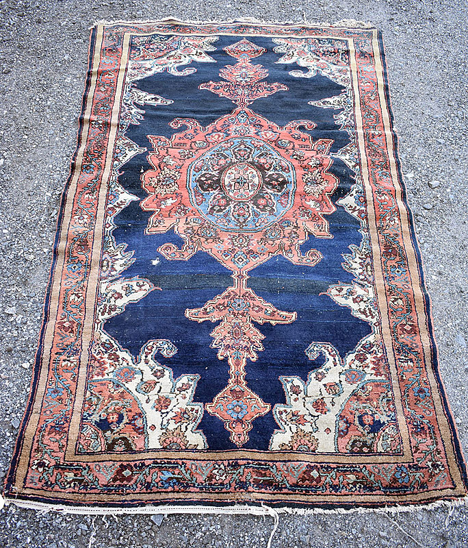 245. Persian Area Carpet, 6ft 9in x 3ft 10in |  $307.50