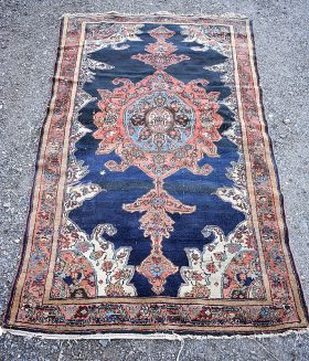 245. Persian Area Carpet, 6ft 9in x 3ft 10in    $307.50