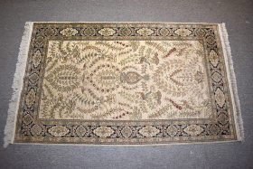 251C. Chinese Silk Area Carpet, 5ft x 3ft    $295