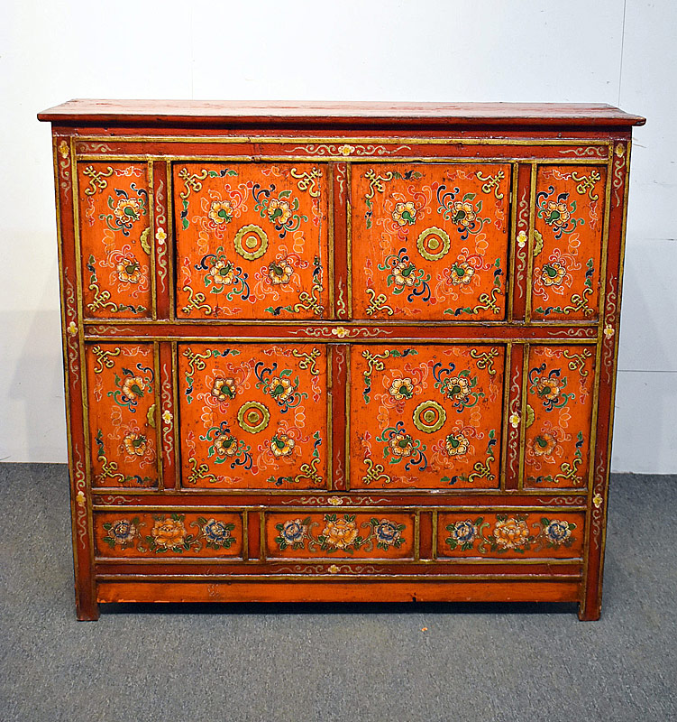 252. Asian Paint-Decorated Cabinet |  $153.75