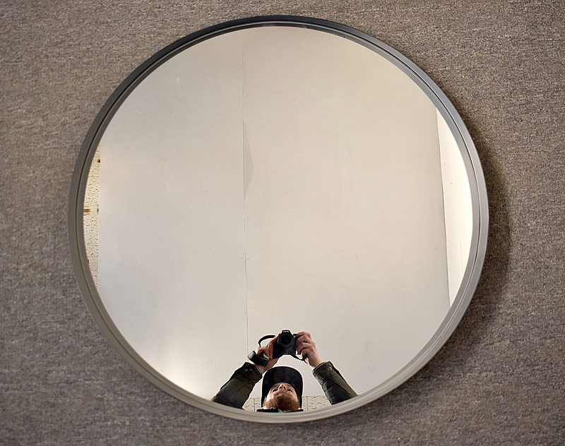 253. Decorator Circular Mirror |  $354