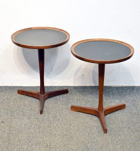 257. Two Hans C. Andersen Occasional Tables    $649