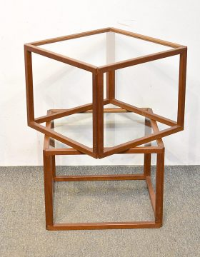 258. Two Danish Teak Occasional Tables    $442.50