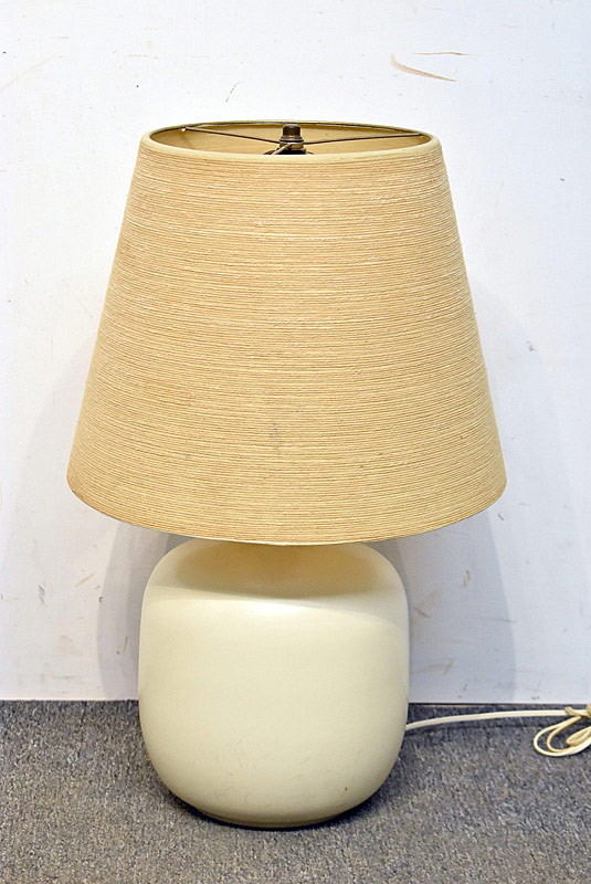 267. Modern Design Pottery Table Lamp |  $110.70