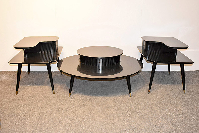 273. Three-Piece Modernist Living Room Suite |  $177