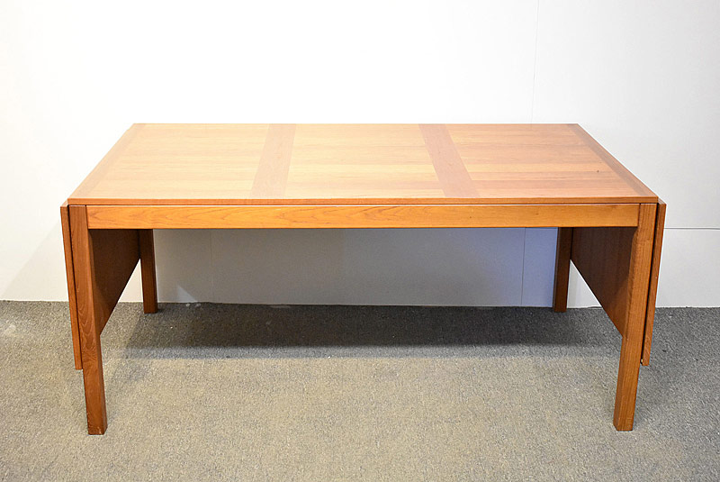 288. Danish Teak Drop Leaf Dining Table |  $383.50