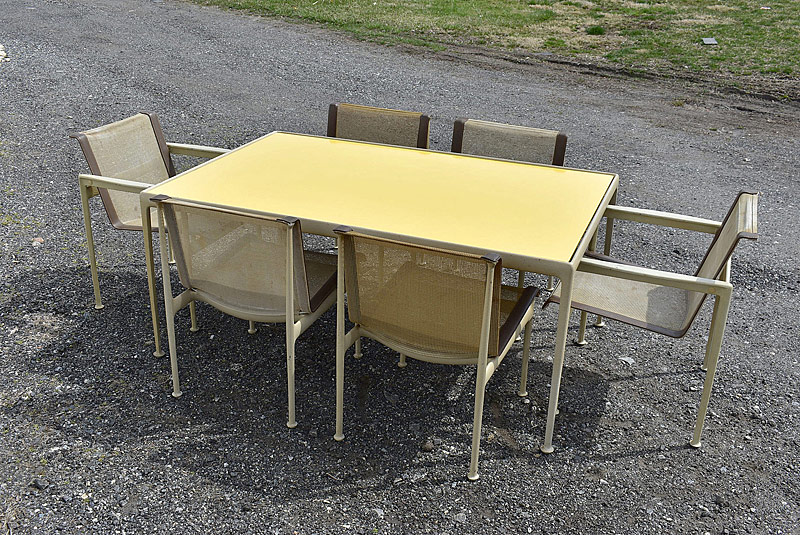 299. Richard Schultz for Knoll Patio Dining Set |  $354