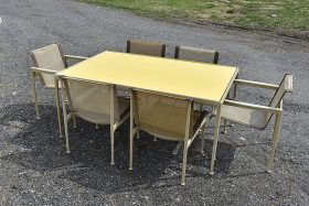 299. Richard Schultz for Knoll Patio Dining Set    $354