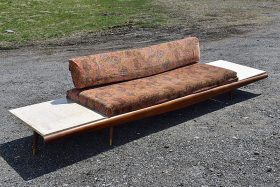 300. Adrian Pearsall 615-D2T Daybed Sofa    $259.60