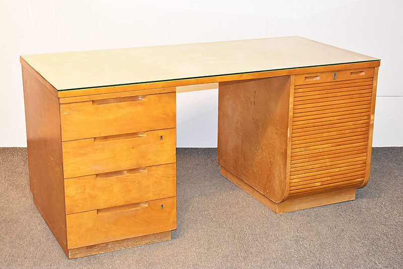 306. Alvar Aalto Model 501 Birch Desk |  $2,360