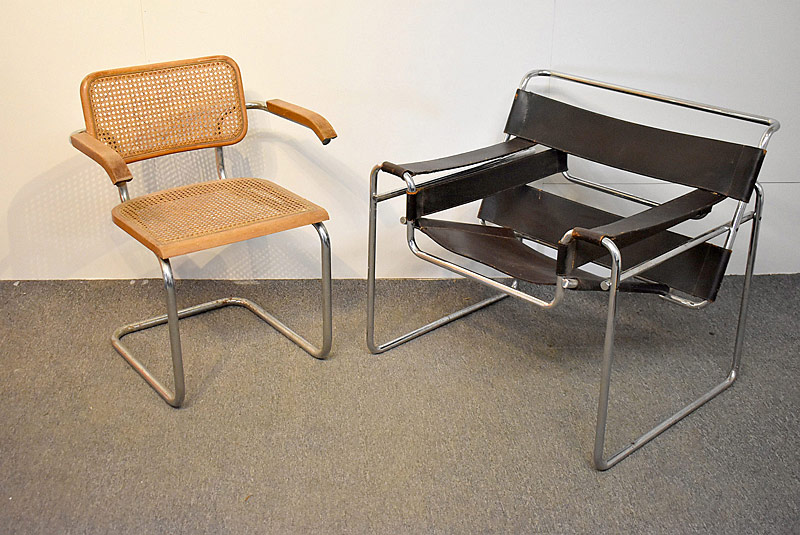 309. Marcel Breuer Wassily Chair and Cesca Chair |  $531