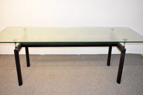 311. Le Corbusier By Cassina LC6 Dining Table    $265.50