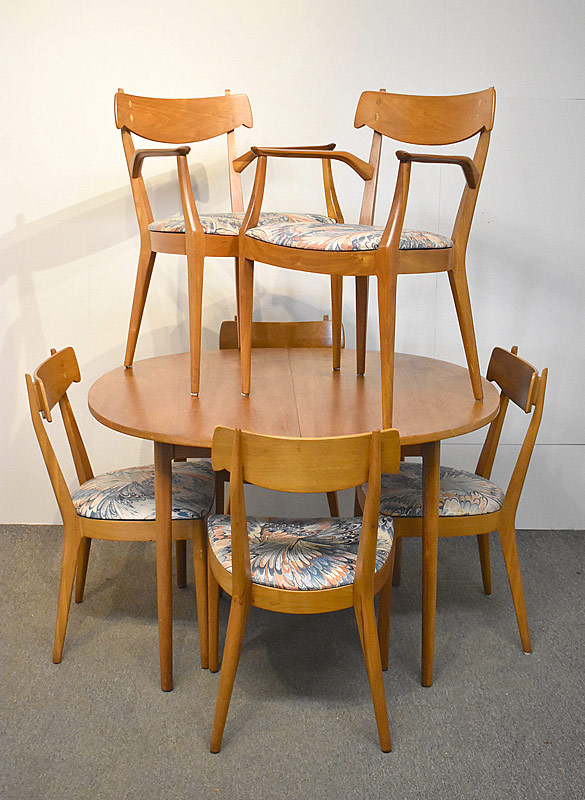 312. Kipp Stewart for Drexel 7-pc. Dining Room |  $354