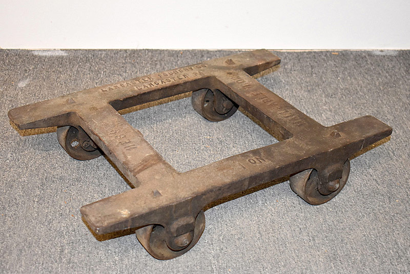 322. Hess Lancaster Foundry Industrial Dolly No. 1 |  $59
