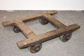 322. Hess Lancaster Foundry Industrial Dolly No. 1    $59