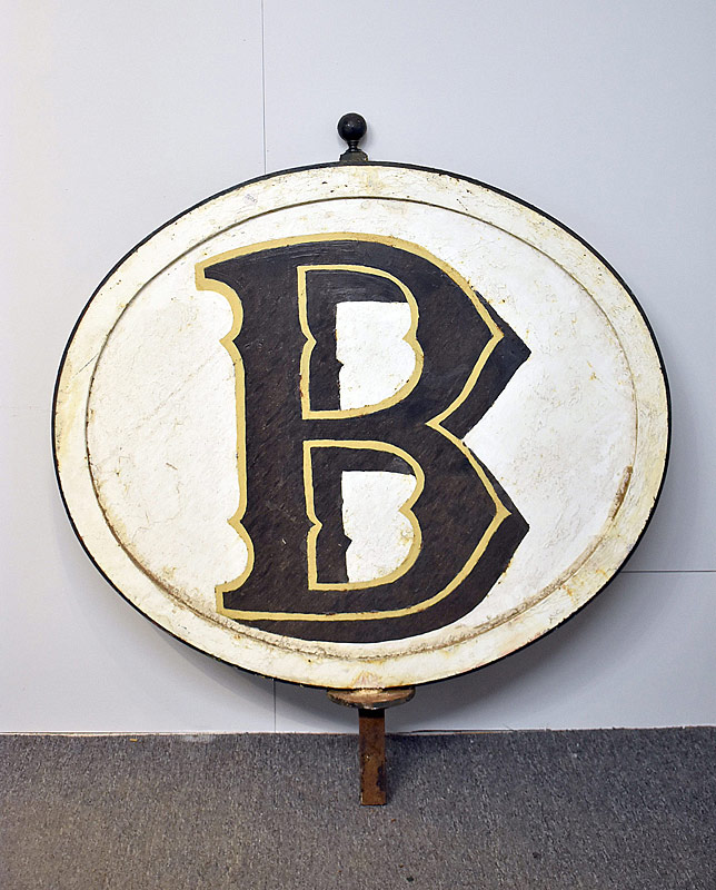 325. Bookbinders Painted Iron Sign |  $615