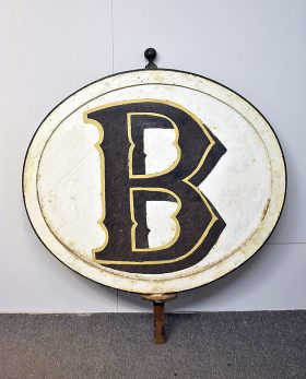 325. Bookbinders Painted Iron Sign    $615