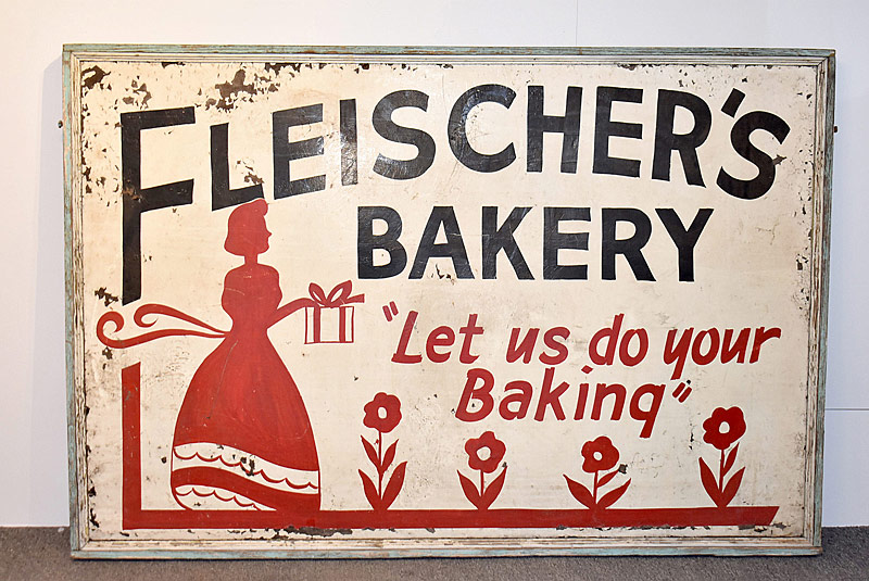 339. Fleischer\'s Bakery Double-Sided Sign |  $106.20
