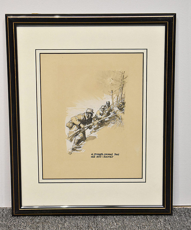 381. Harry Everett Townsend  Charcoal/Gouache, Illustration |  $399.75