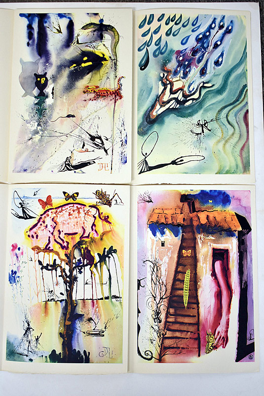 387. Partial Salvador Dali Portfolio of Illustrations |  $826