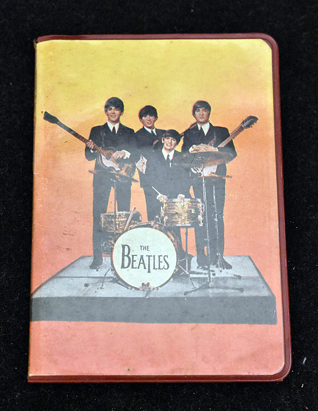 393. 1965 Beatles Address Book |  $82.60