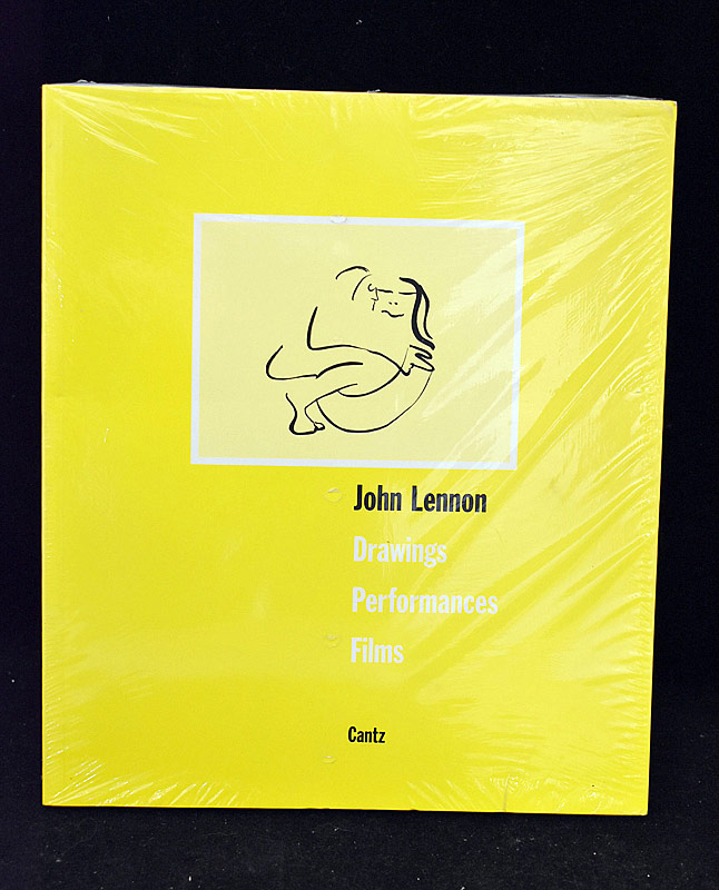 397. Book: John Lennon: Drawings, Performances, Films |  $82.60