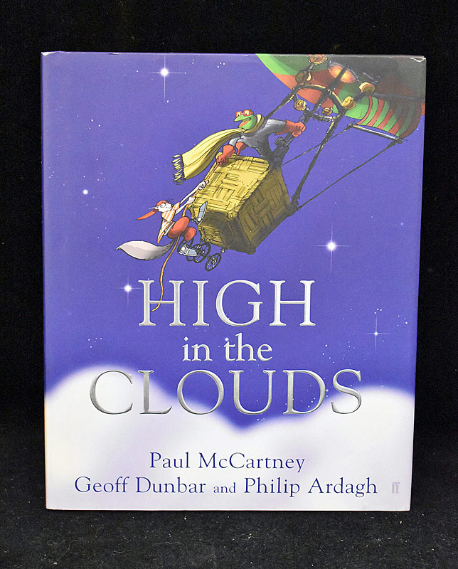 398. Paul McCartney Signed High in the Clouds |  $1,121