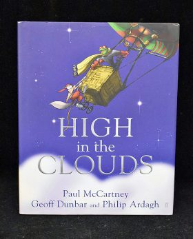 398. Paul McCartney Signed High in the Clouds    $1,121