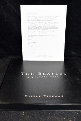 402. Robert Freeman. The Beatles, A Private View    $177
