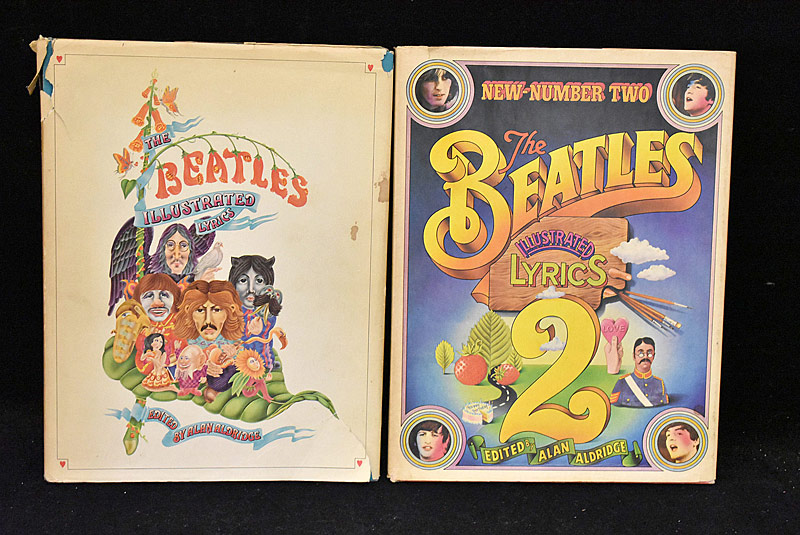 406. Beatles Illustrated Lyrics, Vols. 1 & 2 |  $35.40