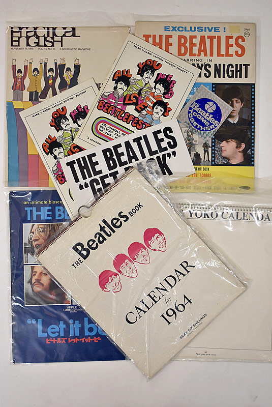 412. Beatles Ephemera Lot |  $94.40