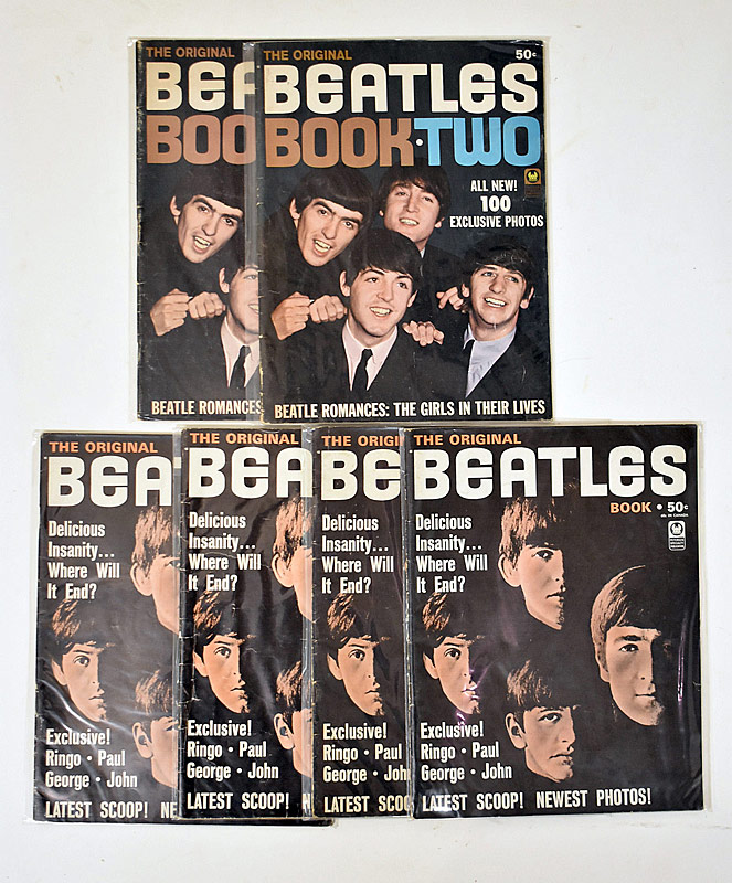 414. Six Beatles Magazines |  $23.60