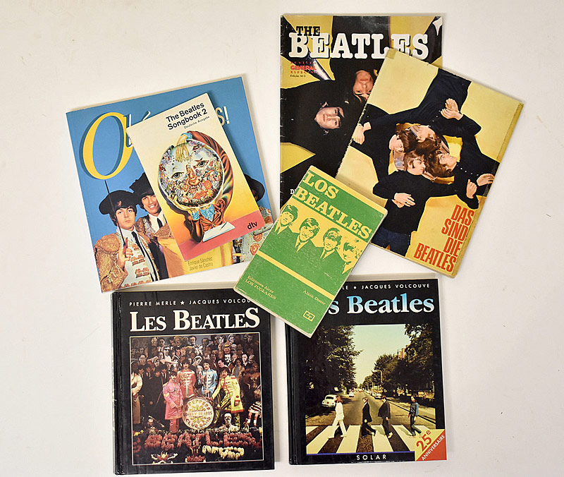 416. Seven Beatles Foreign Language Books |  $59