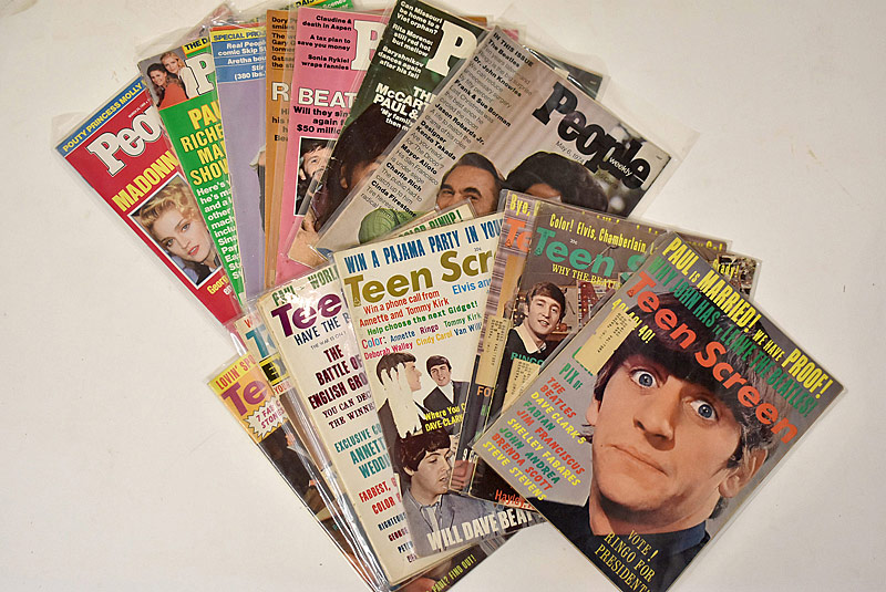 420. Fifteen Beatles-Related Magazines |  $35.40