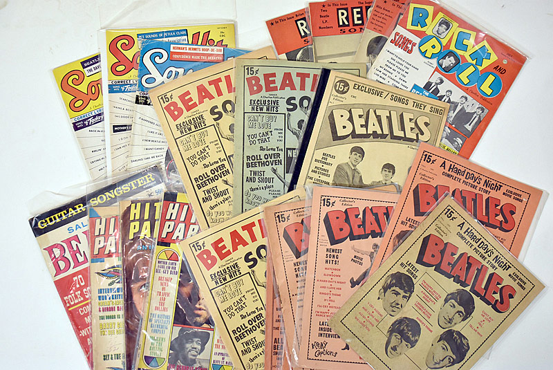 422. 23 Beatles Song Magazines |  $98.40