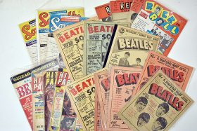 422. 23 Beatles Song Magazines    $98.40