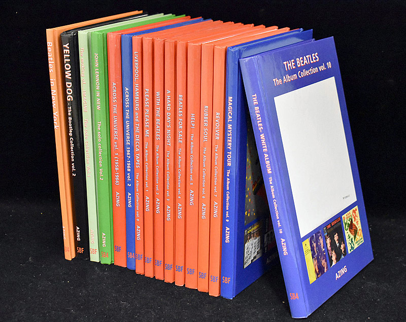427. Collection of 16 Azing Moltmaker\'s Beatles Books |  $383.50