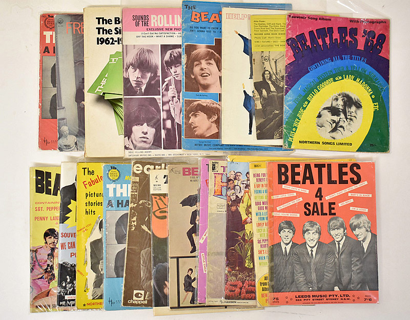 428. 21 Beatles Songbooks |  $236