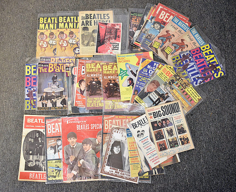 429. Beatles Ephemera Lot: 37 Pieces |  $206.50