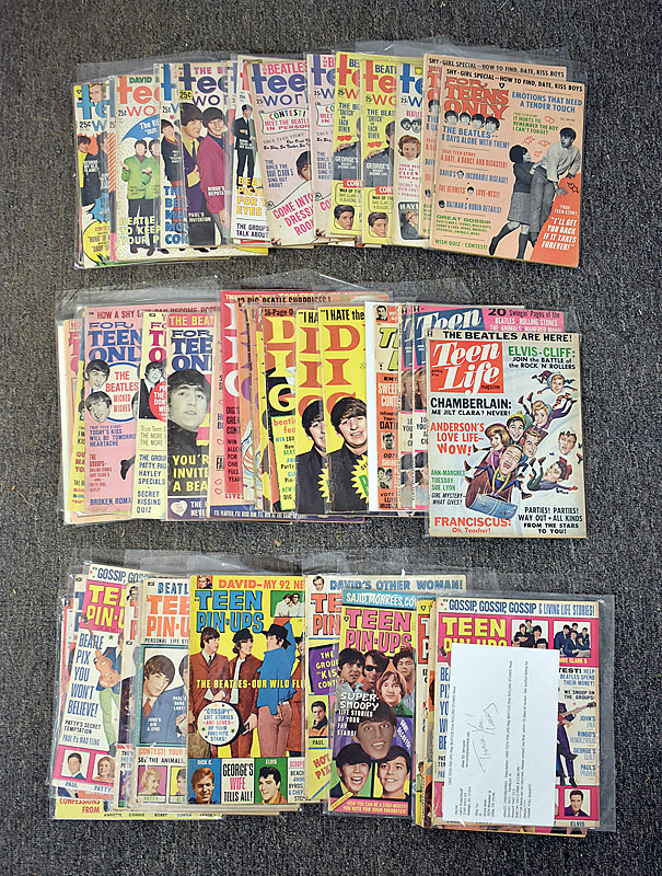 430. Beatles Teen Magazine Grouping |  $265.50