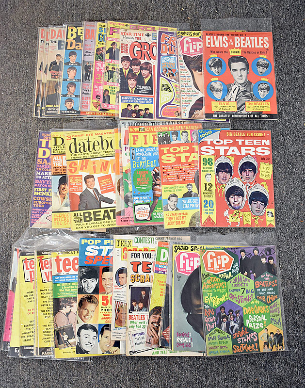 431. Beatles Fan Magazine Grouping |  $354