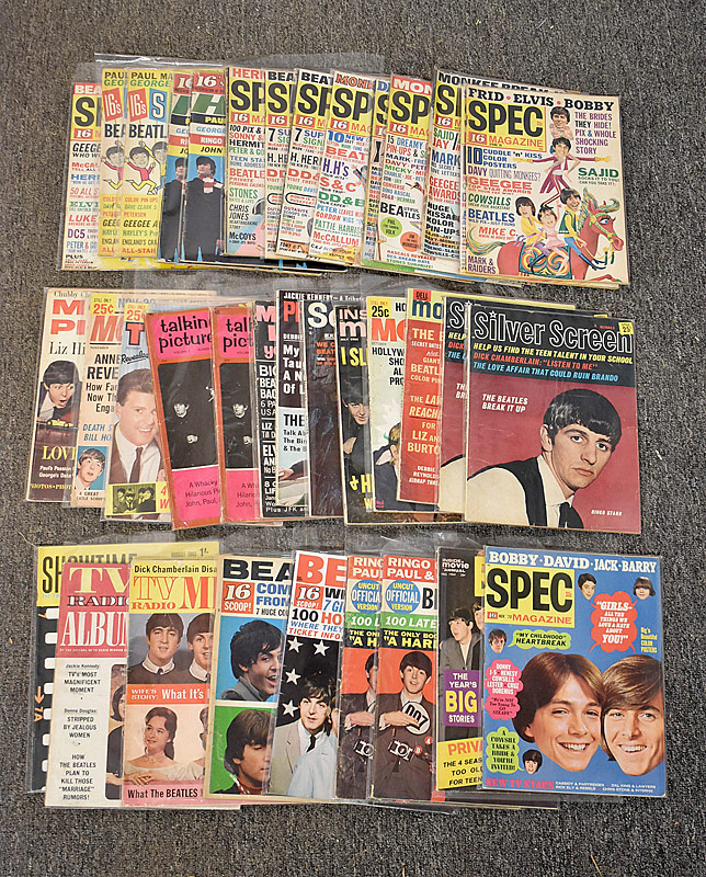 432. Beatles Fan Magazine Grouping |  $177