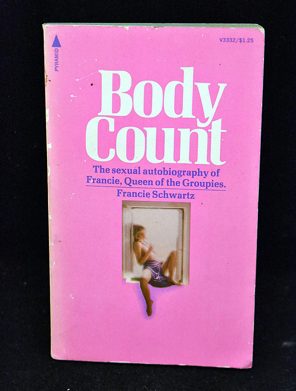 433. Francie Schwartz Book: Body Count |  $129.80