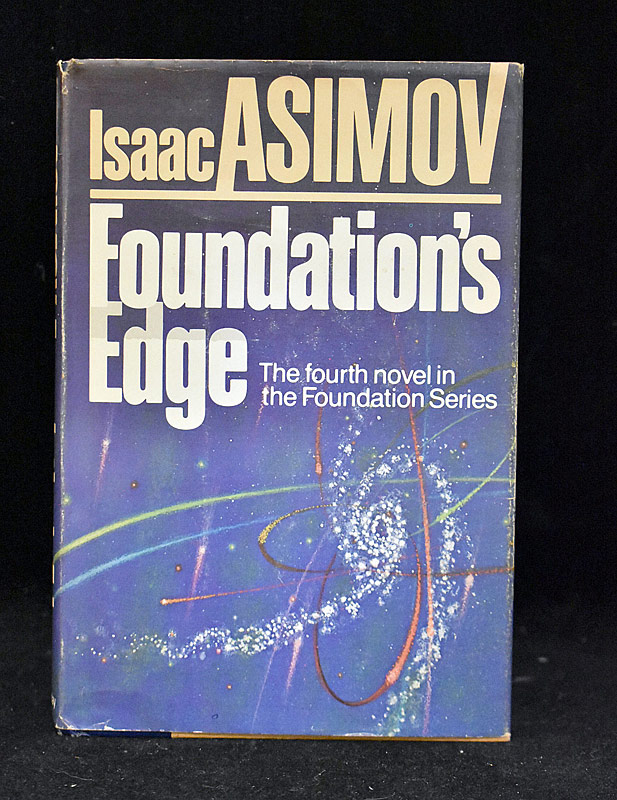 435. Issac Asimov Signed Foundations Edge |  $61.50