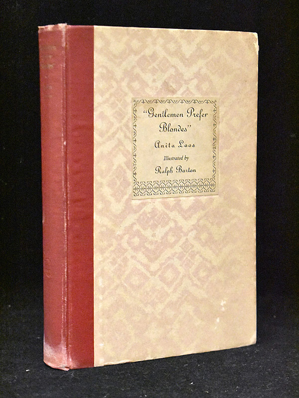 437. Anita Loos Signed Gentleman Prefer Blondes |  $118